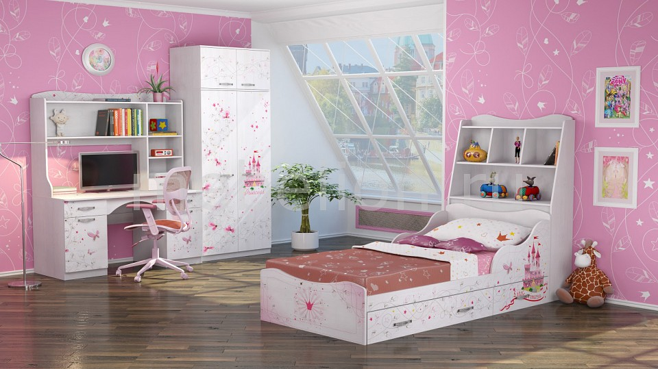 Комод детский Ижмебель IZH_Princessa_system_1 от Mebelion.ru