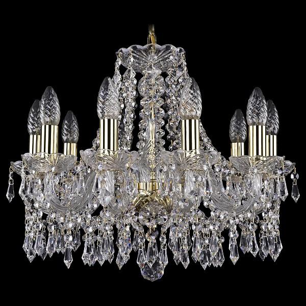 Подвесная люстра 1403/10/160/G Bohemia Ivele Crystal  (BI_1403_10_160_G), Чехия