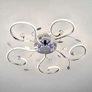 Люстра LED пультом д/у Curl EV_85039