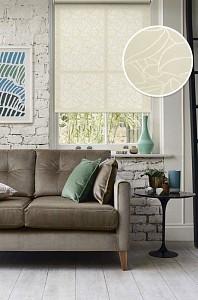 Рулонная штора Эскар Адель 68x160 см., цвет молочный