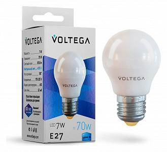 Лампа светодиодная [LED] Voltega E27 7W 4000K