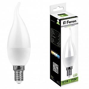 Лампа светодиодная LB-97 E14 220В 7Вт 4000K 25761