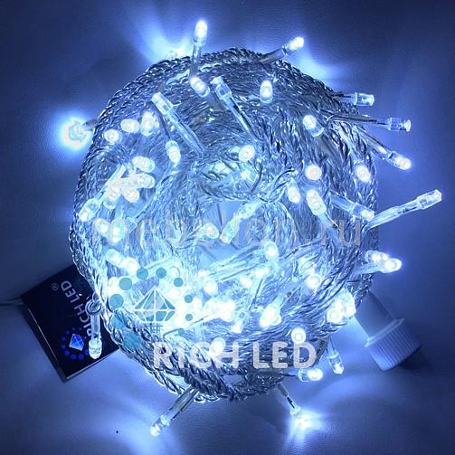 Электрогирлянда RichLED RL_RL-S10CF-220V-W_W от Mebelion.ru