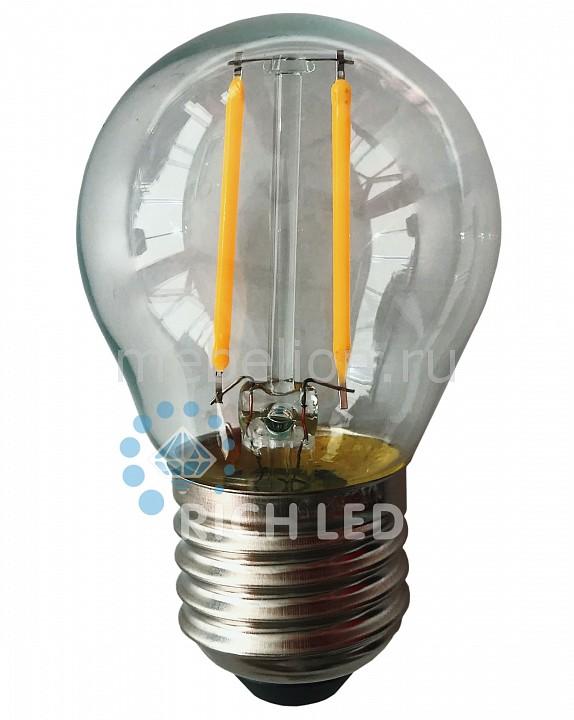 Лампа светодиодная E27 220В 2Вт RL-BL-E27-G45T2-2W-TWW