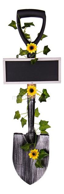 Фигура наземная АРТИ-М (22х4х68 см) Лопата с табличкой 222-291 canghpgin светлый серый цвет номер м