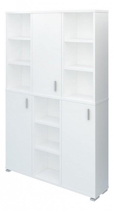 Купить Шкаф книжный Домино ПУ-40-3, Merdes