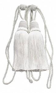 Набор из 2 подхватов для штор (50 см) Кисти Ajur