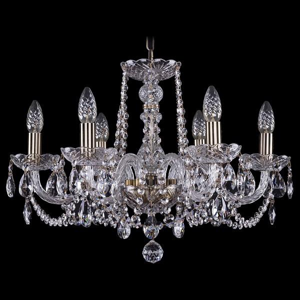 Подвесная люстра 1402/6/195/Pa Bohemia Ivele Crystal  (BI_1402_6_195_Pa), Чехия
