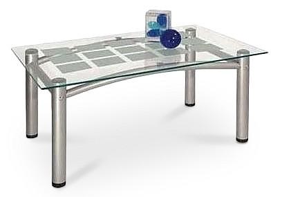 Стол журнальный Робер 3М металлик