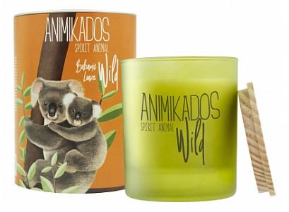 Свеча ароматическая (9.9 см) Wild Koala Бальзамические листья VV040BLAW