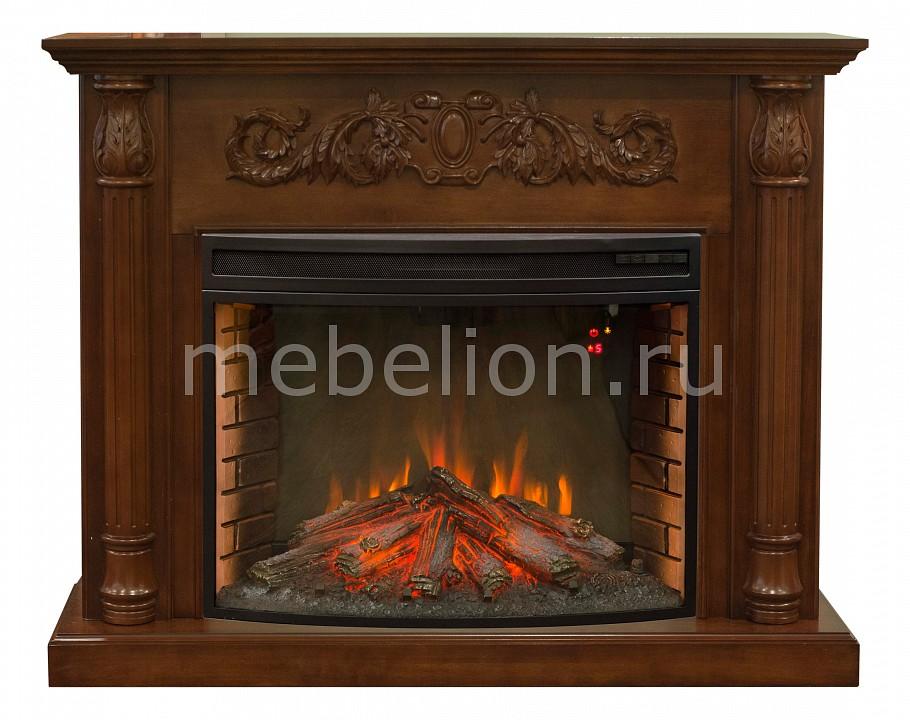 Электрокамин напольный Real Flame (137х40х109.5 см) Salford 00010010714 электрокамин real flame majestic br s