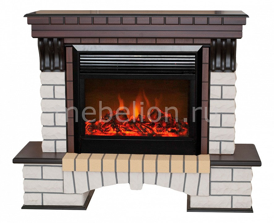Электрокамин напольный Real Flame (137х41.5х106 см) Country 00010010726 электрокамин real flame florida 26 ao moonblaze