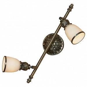 Спот поворотный Furlo, 2 лампы E14 по 40 Вт., 3.1 м², цвет белый с каймой глянцевый