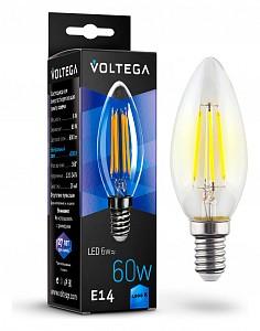 Лампа светодиодная Crystal E14 220В 6Вт 4000K 7020