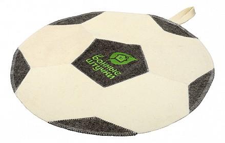 Коврик для бани (41x41 см) Футбольный мяч