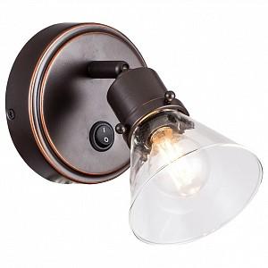 Спот поворотный Бисмарк, 1 лампы E14 по 60 Вт., 2.36 м², цвет неокрашенный матовый