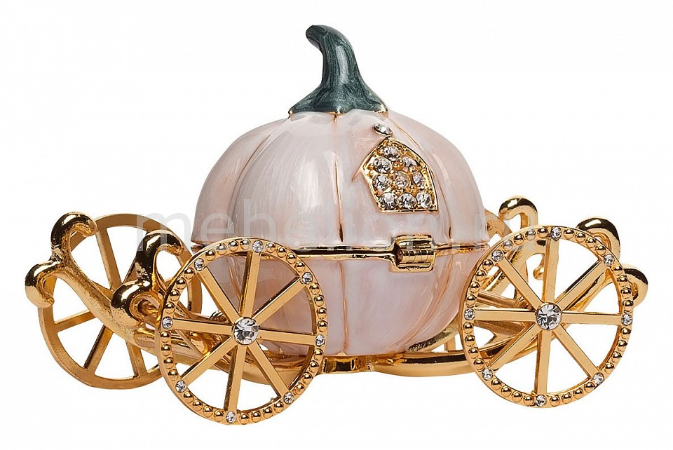 все цены на Шкатулка декоративная Garda Decor (13х9х7 см) Карета JB0723AL