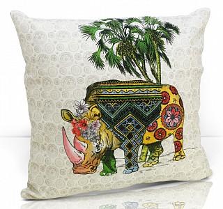 Подушка декоративная (49x49 см) Rhino
