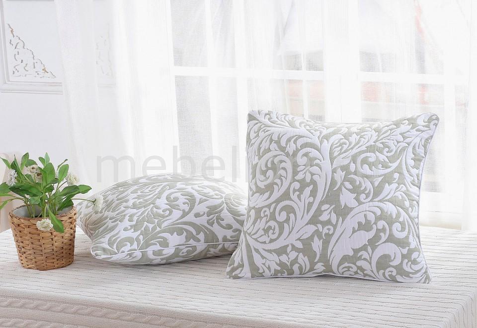 Наволочка для декоративных подушек CLEO CLE_45_003_2-BR от Mebelion.ru