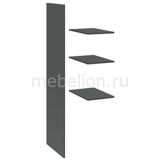 Панель с полками для шкафа Наоми ТД-208.07.02-01