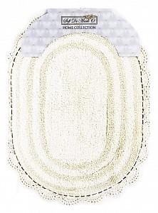 Коврик для ванной (60x100 см) Pamella S.308крем