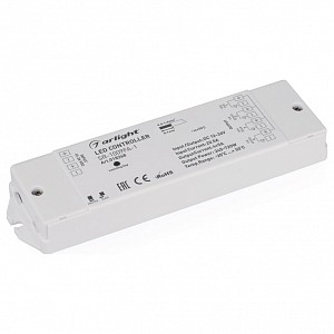 Контроллер-регулятор цвета RGBW SR-1009FA-1 (12-36V, 240-720W)