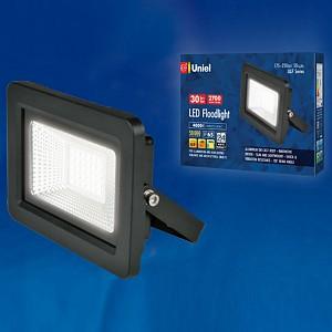 Настенный прожектор ULF-F19 ULF-F19-30W/4000K IP65 175-250В BLACK