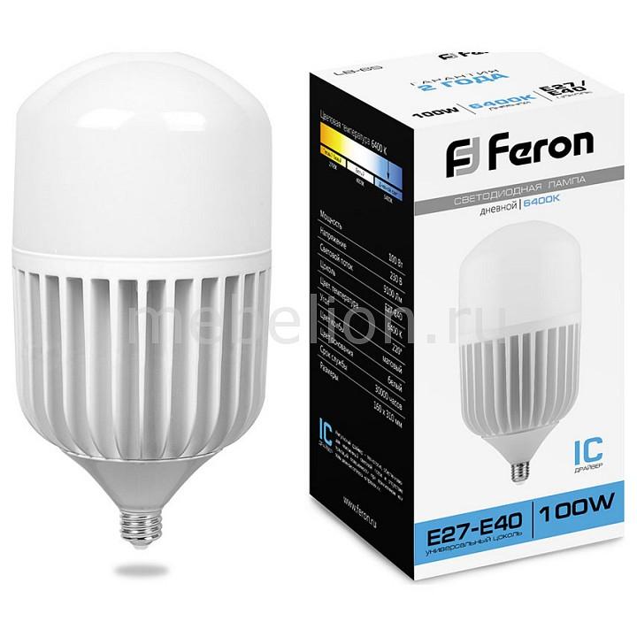 Купить Лампа светодиодная E27-E40 100Вт 220В 6400K LB-65 25827, Feron Saffit
