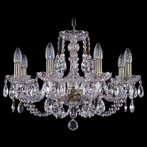 Подвесная люстра 1406/8/195/Pa Bohemia Ivele Crystal  (BI_1406_8_195_Pa), Чехия