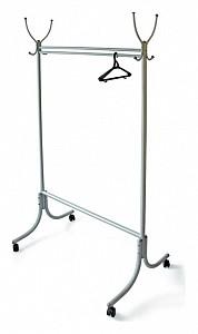 Вешалка гардеробная М-13 алюминий (с колесиками)