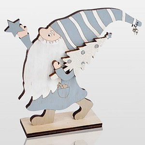 Дед Мороз [15 см] Гномик 504-004