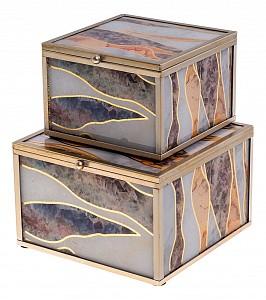 Набор из 2 шкатулок для украшений ART 108-148
