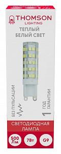 Лампа светодиодная [LED] Thomson G9 7W 3000K