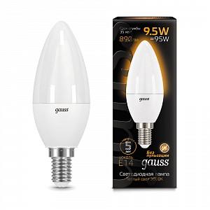 Лампа светодиодная 1031 E14 150-265В 9.5Вт 3000K 103101110