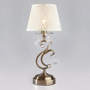 Настольная лампа декоративная Eileen 1448/1T античная бронза Strotskis настольная лампа