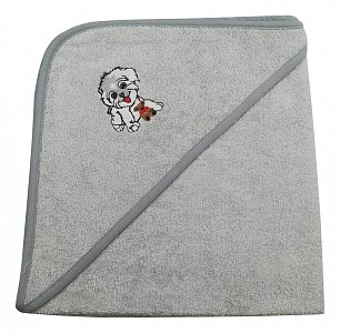 Полотенце детское (70x70 см) Собачка