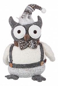 Мягкая игрушка (20х10х34 см) Совенок-Джентельмен 476-137
