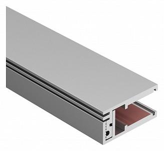 Профиль встраиваемый мебельный [2 м] KLUS-GLASS-810-2000 ANOD 019191