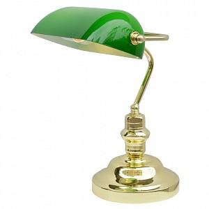 Настольная офисная лампа Banker AR_A2491LT-1GO