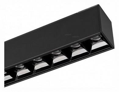 Встраиваемый светильник MAG-LASER-45-L480-18W Warm3000 (BK, 15 deg, 24V) 026941