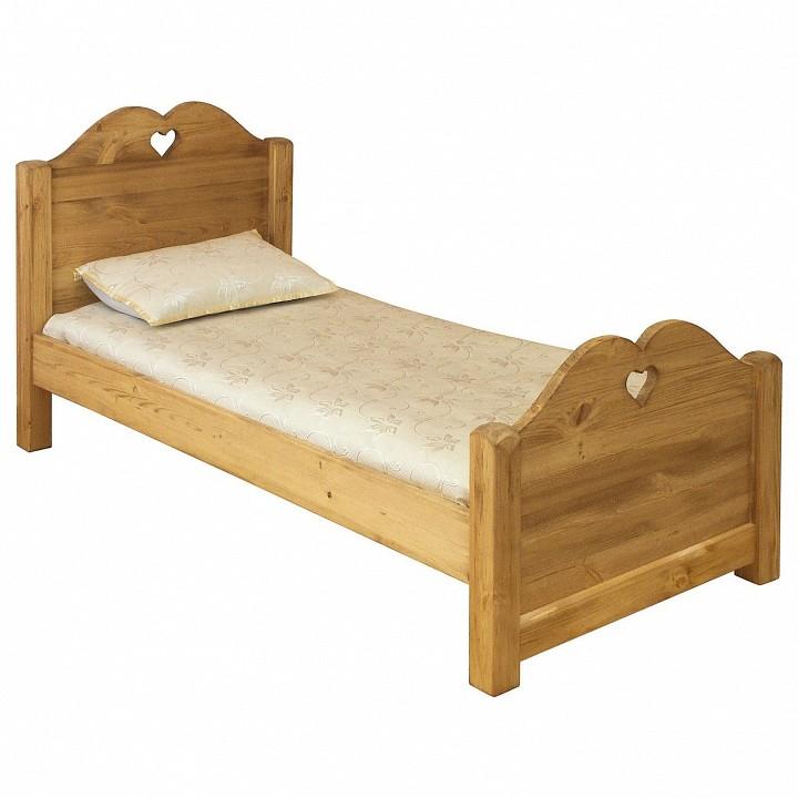 Кровать односпальная Lit coeur 90
