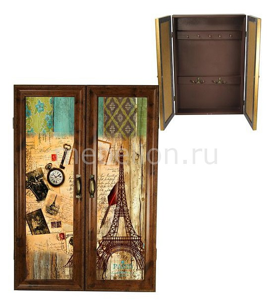 Ключница Акита (32х46 см) Париж 311-19 ключница акита 32х46 см шары 311 22