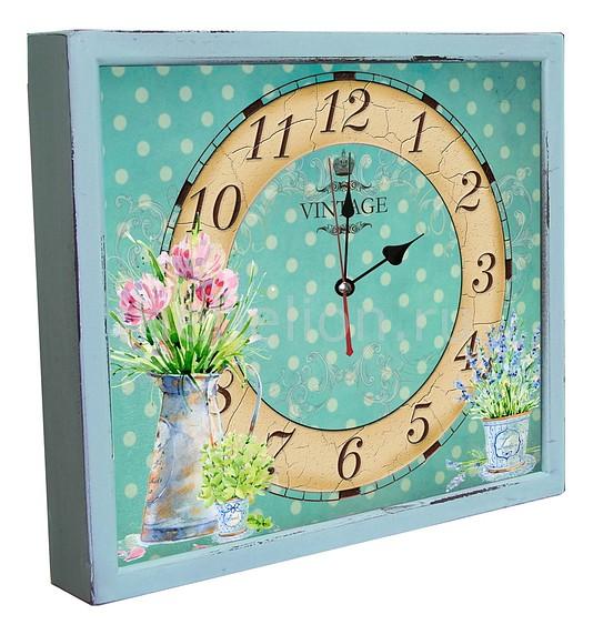 Настенные часы Акита (34х30 см) Кувшин с цветами 3034-4 цена и фото