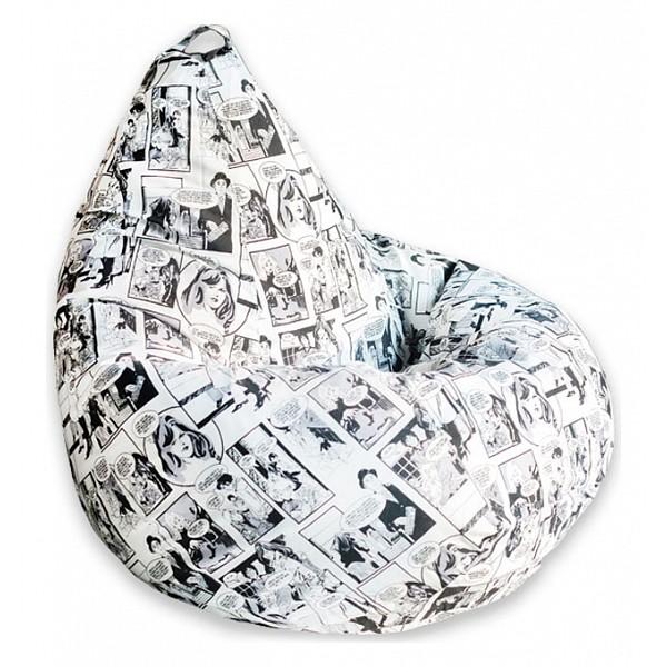 Кресло-мешок Комикс Ч/Б 3XL