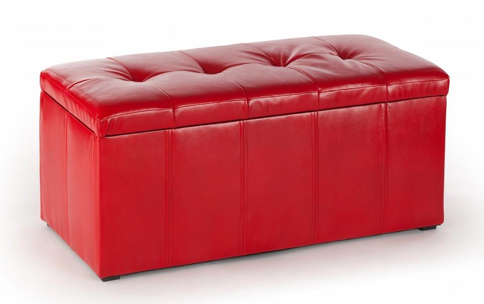 Банкетка ПФ-3 красная