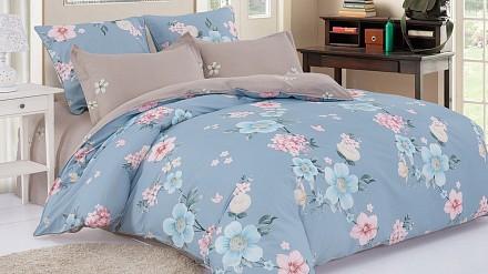 Комплект постельного белья Satin de Luxe Евро