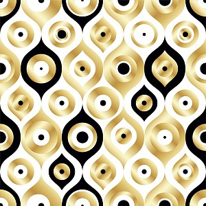 Картина (30х30 см) Золотые круги SE-102-265