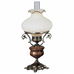 Настольная лампа дерево 2442 RA_P_2442_G