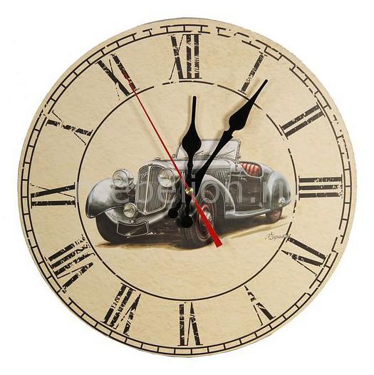 Настенные часы Акита (30 см) Автомобиль C53 цена и фото