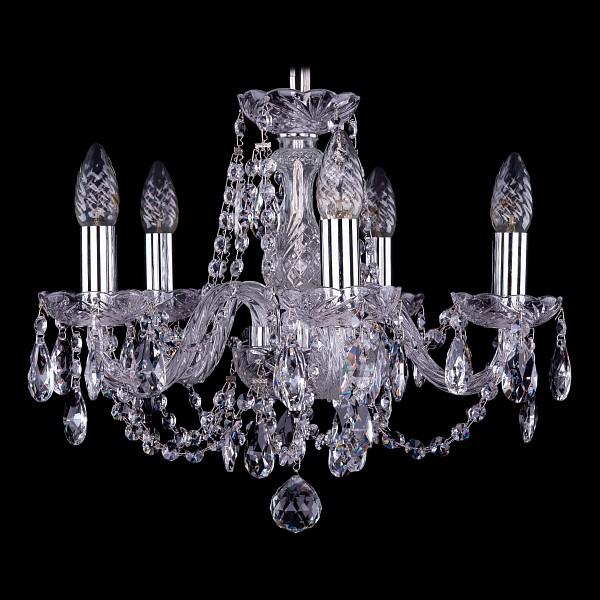 Подвесная люстра 1406/5/141/Ni Bohemia Ivele Crystal  (BI_1406_5_141_Ni), Чехия